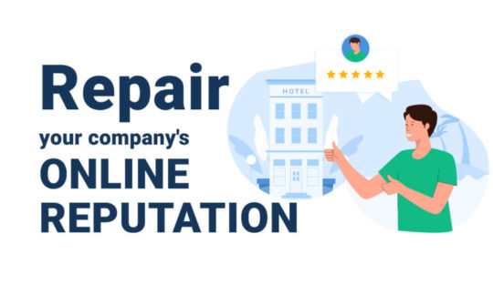 How to repair your company's online reputation